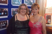 Ailish and Caroline at the People of the Year Ball