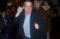 Michael Sinnott (South East Radio) at the Halloween Ball