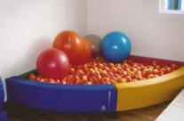 OT Equipment – Ball Pool Representing The Charity