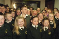 Pupils of St. Senans Attend The Musical Tribute to Aine