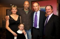 Paul McGrath Attends Musical Tribute To Aine
