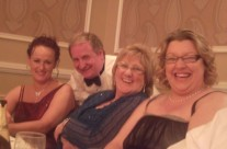 Mary, Colm, Kathleen and Ailish Having A Laugh
