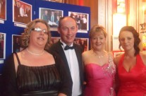 Ailish, Matt, Caroline and Emma At Awards