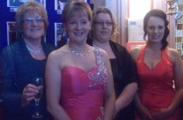 Kathleen, Caroline, Ailish and Emma At People of the Year Ball