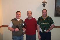 Matt With The Event Winners Martin Murphy and Billy Molloy