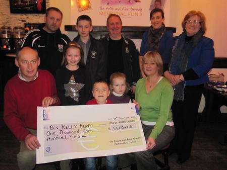 Ben Kelly Fund Donation