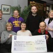 Temple Street Hospital Cheque Presentation