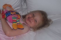 Aine after 26 hour trip to China for Stem Cell Treatment
