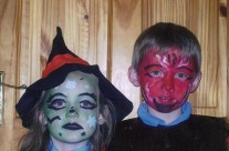 Aoife and Conor in Costume