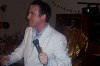 Ireland's Number 1 Elvis Impersonator Cathal Byrne Performs At The Halloween Ball