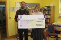 Cheque Presentation to the Cottage Autism Network, Wexford