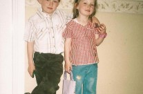 Conor and Aoife on Holidays in Clare