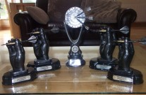 Trophies For The Darts Tournament