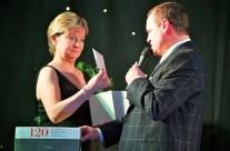 Caroline with Graham Mulcahy, GTM Events