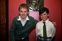 Pupils of St. Senans including Daniel Furlong, winner of All Ireland Ireland Talent Show 2011