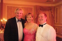 Michael Lester, Caroline and Colm at People of the Year Ball