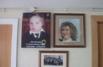 Aine Taking Pride of Place On The Wall Of Memories